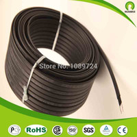 Wholesale Roof Water Heater - Wholesale-10M pc Anti-freeze Frost Protection Heating Cable For Water Pipe Roof 230V 8MM 30W M Self Regulating Electric Heater Copper Wire