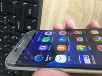 Wholesale Dual Sim Card Inch - Android 6.0 5.5 inch Goophone S7 Edge Clone Phone MTK6735 Quad Core 1G Ram 8GB Rom 8MP Camera 1280*720 Pixels Show 3G ram 64G rom Smartphone