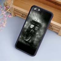 Wholesale Iphone 4s Doctor Covers - NEW DOCTOR WHO TARDIS D cellphone Cases For iPhone 6 6S Plus 7 7 Plus 5 5S 5C SE 4S Back Cover