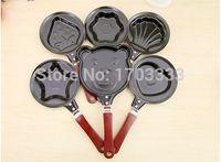 Wholesale Gear Love - Wholesale new love omelette pan fried eggs covered mini device pentagram omelette pan kitchen Pan pot