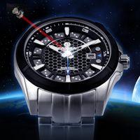 Wholesale Men Watches Solar - New! Montre Homme Top Brand Mens Luxury Watches CASIMA Fashion Solar Energy Quartz Man Watch 100m waterproof Relogio Masculino