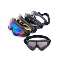 gafas de sol de skate al por mayor-Protección ULTRAVIOLETA UV400 Deportes al aire libre Snowboard Skate Goggles Safety Eyewear Coating Sunglasses Lens