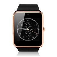 ingrosso le mani intelligenti guardano liberamente-Smart Watch Passometer GT08 con monitor GPS Hands Free Speaker SIM per Androld e iOS