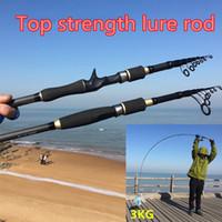 Wholesale Daiwa Carbon Rod - 46T carbon fishing rod japan spinning casting rod pod olta lure telescopic pole feeder baitcasting fit abu garcia daiwa reel B