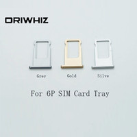 plateau sim d'or achat en gros de-Plateau à cartes SIM de haute qualité pour iPhone 6Plus 6 Plus, gris, or, argent, disponible en couleur