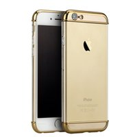 Wholesale Mobile Phone Crystal Cases - New Arrival IPAKY® Electroplate Transparent iPhone 6 Case Crystal PC iPhone 6S Hard Mobile Phone Case