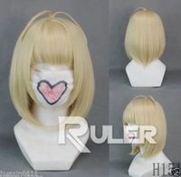 Wholesale Shiemi Cosplay Wig - FREE SHIPPING>Short BOB Ao no Exorcist-Shiemi Moriyama Yellow Anime Cosplay Wig