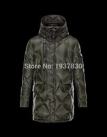 Wholesale Winter Coats Discounts - Free Shipping! Discount top quality Men's Down Jacket Winter Jacket coat Men Down Coat Blue Army green Winter Coat Men Down Parka