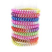 Wholesale telephones accessories for sale - Size CM Colorful Gum For Hair Accessories Ring Rope Women Elastic Hair Bands For Women Gum Telephone Wire Scrunchy