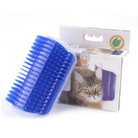 Wholesale Grooming Shedding - Newest Pet Cat Self Groomer Grooming Tool Hair Removal Brush Comb for Dogs Cats Hair Shedding Trimming Cat Massage Device CCA7649 100pcs