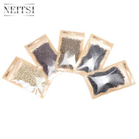 Wholesale beads ring china resale online - Tools Silicone Micro Rings Beads bottle Blonde Brown Color China Post