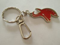 Wholesale metal key ring holder - custom made metal keychain, antique silver metal keyring, custom key chain ;leather key holder ;Key Finder; key ring