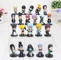 Wholesale Wholesale Kids Collectables - 21pcs set Cartoon Anime Naruto kakashi sasuke xiao earners PVC Collectable Figure Model Toys Doll Gifts for kids approx 5cm