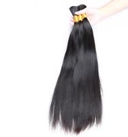 Wholesale human hair attachment for braids for sale - Silky Straight Bulk Braiding Hair Peruvian Human Hair Bundles For Micro Braids Unprocessed Human Hair Extensions In Bulk No Attachment