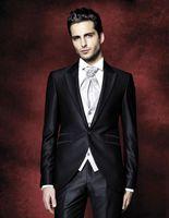 Wholesale Cheap Black Pants For Sale - Hot Sale Wedding Mens Suits Two Pieces Bridegroom Tuxedos For Men Groomsmen Cheap Formal Business Slim Fit Prom Suit(Jacket+Pants)