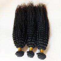 ingrosso tessuto 5pc-I capelli crespi vergini peruviani europei arricciano la struttura all'ingrosso e al minuto 3 4 5pc / lot trama brasiliana mongola brasiliana dei capelli umani