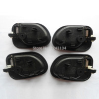 Wholesale Handle Accent - 95-99 Hyundai Accent Inside Driver Passenger Side Left Right Door Handle 1 Set free ship china
