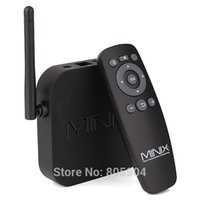 Tarjeta SD USB RJ45 mayor-MINIX NEO X7 Mini RK3188 Quad Core a 1,6 GHz Android TV Box 2G / 8G WiFi HDMI óptica XBMC Smart TV Receptor Mini PC