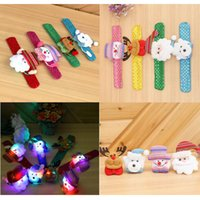 LED Sac à main de Noël Party Toys Supplies Décoration Enfants Jouet Petit cadeau Santa Claus Snowman Deer ZA4870
