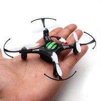 drone h8 mini venda por atacado-NOVA H8 mini drone Modo Headless 6 Eixos Giroscópio 2.4 GHz 4CH dron com 360 Graus Função de Rollover Uma Chave de Retorno do Helicóptero RC