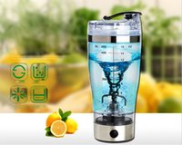Wholesale 450ml Electric Automation Protein Shaker Blender My water Bottle Automatic Movement Outdoor Tour Coffee Milk Mixer
