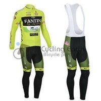 Wholesale Vini Fantini Cycle Jersey - 2014 VINI FANTINI men cycling Jersey sets in winter autumn fall with long sleeve bike top & (bib) pants in cycling clothing, bicycle wear
