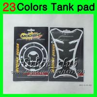 honda cbr gaz tankı pedleri toptan satış-23 Renkler 3D Karbon Fiber Gaz Tank Pad Koruyucu Için HONDA CBR1000RR 12 13 14 CBR 1000 RR 1000R CBR1000 RR 2012 2013 2014 3D Tank Cap Sticker