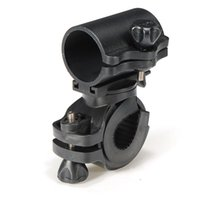Wholesale Flashlight Grip - Portable Cycling Bike Bicycle Light Lamp Stand Holder Rotation Grip LED Flashlight Torch Clamp Clip Mount Bracket Accessories