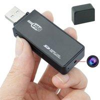 Wholesale U Disk Spy - HD 1280*960 USB Disk Spy Hidden Camera U9 U-disk Flash Drive Video Recorder Motion Activated MINI DV