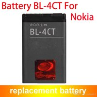 Wholesale Bl 4ct - Hot Selling Grade AAAA BL-4CT BL4CT Rechargeable Cell Phone Battery For Nokia 5310 5630 Xpress Music X3 860mAh