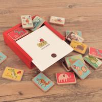 juguetes viejos de madera al por mayor-Envío gratis Suecia Tío Wood Inglés palabra de ajedrez de más de 3 años de edad Aprendizaje temprano Puzzle niño Juegos de mesa Juguetes