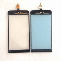 Wholesale Iphone 3g Glass Digitizer - Wholesale- 5 inch For Wiko Rainbow Jam 3G Touch Screen Glass Panel Digitizer Free shipping France
