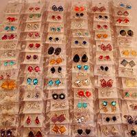 perlen stil großhandel-Mode Top Qualität Neue 100 Arten Diamant Ohrringe Perle Ohrringe Schnalle Schmuck Für Frauen Hochzeit Ohrringe Stud Mixed Pair