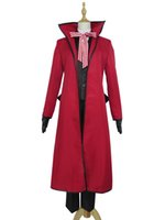Wholesale Black Butler Grell Sutcliff Cosplay - Black Butler Shinigami Grell Sutcliff Uniform Cosplay Costume