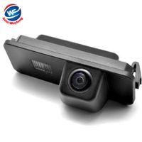 Wholesale Vw Passat Car Camera - Wholesale-Car Rear View Reverse Backup CAMERA For VW GOLF V GOLF 5 SCIROCCO EOS LUPO PASSAT CC POLO(2 cage) PHAETON BEETLE SEAT VARIANT