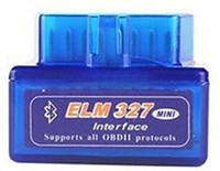 ingrosso obd ii interfaccia per opel-ELM327 Mini ELM 327 V2.1 OBD2 Bluetooth Interface Auto Scanner obd ii Strumento di diagnostica funziona su Android Windows Symbian
