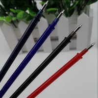 Wholesale Refill Promotional Pens - Wholesale-Promotional Popular 20pcs Aihao1370 0.5mm Magic Erasable Gel Ink Pen Refill Brand School&Office Supply Stationery Free Shipping