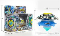 Wholesale Fight Types - Beyblade Pegasus 7 Types Beyblade Metal Fusion Fight Master 4d System Rapidity Pegasis w Launcher Beyblade Metal Fury Children Toys