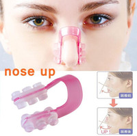 Wholesale Make Nose Beautiful - Beautiful Nose Up Nose Lifting Clip For making nose higher more beautiful perfect face best Nose Shaping Clip with Retail packaging
