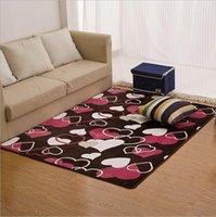 Wholesale Livingroom Carpets - Colors Coral velvet Soft Carpet Area Rug Slip Resistant Door Floor Mat For Bedroom Livingroom not fade not drop hair
