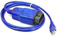 black car services - Hot OPEL TECH2 USB car diagnostic cable for other service device VAG two colors black and blue