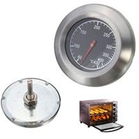 parrillas de barbacoa de calidad al por mayor-NUEVO Alta calidad Barbacoa BBQ Smoker Grill Termómetro de acero inoxidable Medidor de temperatura 60-430