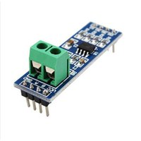 Wholesale Wholesale Integrated Circuits - Wholesale-86083 MAX485 Module Free shipping RS-485 TTL to RS485 MAX485CSA Converter Module Integrated Circuits Products For Arduino