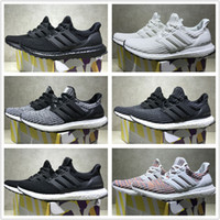 Wholesale Runner Sport - Adidas Originals Ultra Boost 4.0 Core Primeknit Runner Fashion Ultraboost Running Sneaker Sports Shoes For Men Women Eur36-45