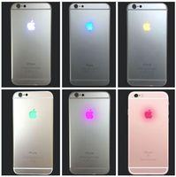 iphone light logosu toptan satış-Gece Parlayan Aydınlatma LED Geri Logo Değiştirme Flex Kablo iphone XS 7 Artı 6 6 S