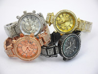 Wholesale Michael Diamonds - Modern Fashion michael men's watch with diamond,women watch,quartz watch with calendar, silver, gold, rosegold in stock