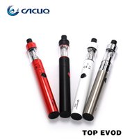 Wholesale Electronic Ecigarette Kit - Original Kanger Topevod Starter Kit Electronic Cigarette with black white red silver top evod vape Ecigarette vs eleaf ijust2 kit e cig
