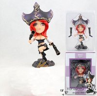 Wholesale Miss Fortune Action Figure - Juguetes Patrulla Canina Toys One Piece Game The Bounty Hunter Miss Fortune with Gun Pvc Action Figures 16cm Model Toy 1pcs free Shipping