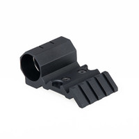 Wholesale Picatinny Flashlight Holder - New Arrival Metal Picatinny Rail Set KEYMOD Rail With Flashlight Holder For Outdoor Airsoft Free Shipping CL22-0074