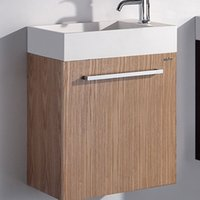 500mm X 300mm X 510mm Bagno Blum Hings mobili Top Solid Surface Vanity Storage Guardaroba Parete Appeso Cabinet 2073